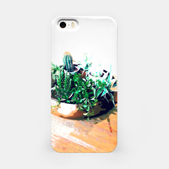 Thumbnail image of Cacti in a Copper Pot iPhone Case, Live Heroes
