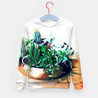 Thumbnail image of Cacti in a Copper Pot Kid's sweater, Live Heroes
