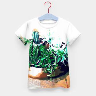 Thumbnail image of Cacti in a Copper Pot Kid's t-shirt, Live Heroes