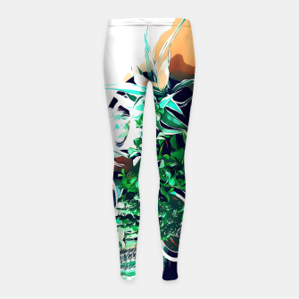 Thumbnail image of Cacti in a Copper Pot Girl's leggings, Live Heroes
