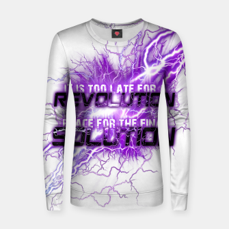 Thumbnail image of Muse Thought contagion Pull femme en coton, Live Heroes