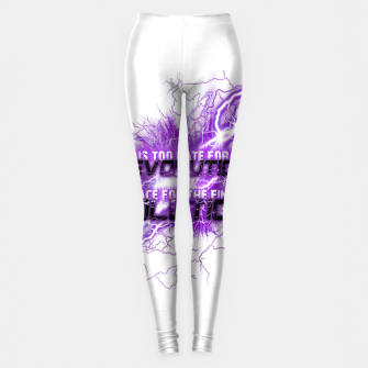 Thumbnail image of Muse Thought contagion Leggings, Live Heroes