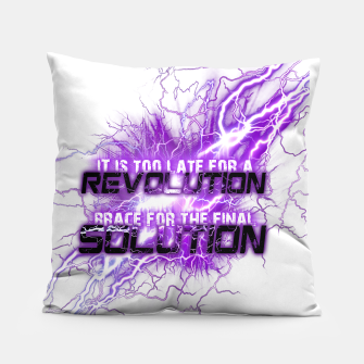 Thumbnail image of Muse Thought contagion Coussin, Live Heroes