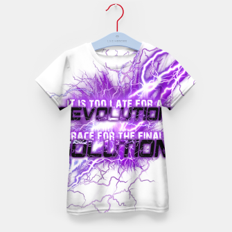 Thumbnail image of Muse Thought contagion Enfantin t-shirt, Live Heroes