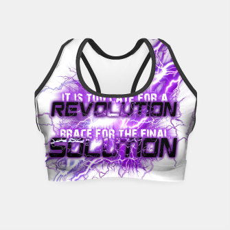 Thumbnail image of Muse Thought contagion Crop Top, Live Heroes