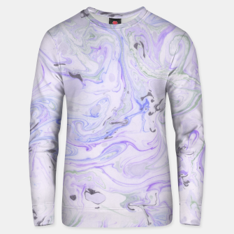 Thumbnail image of Digital Classic Marble in Purple Cotton sweater, Live Heroes