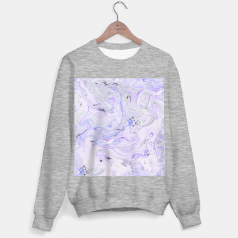 Thumbnail image of Digital Classic Marble in Purple Sweater regular, Live Heroes