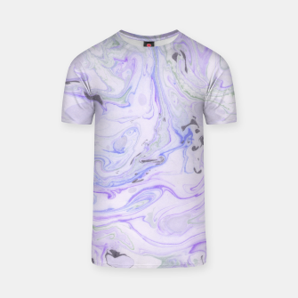 Thumbnail image of Digital Classic Marble in Purple T-shirt, Live Heroes