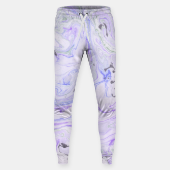 Thumbnail image of Digital Classic Marble in Purple Cotton sweatpants, Live Heroes