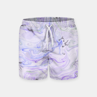 Thumbnail image of Digital Classic Marble in Purple Swim Shorts, Live Heroes