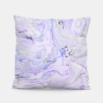 Thumbnail image of Digital Classic Marble in Purple Pillow, Live Heroes