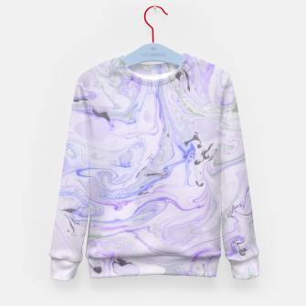 Thumbnail image of Digital Classic Marble in Purple Kid's sweater, Live Heroes