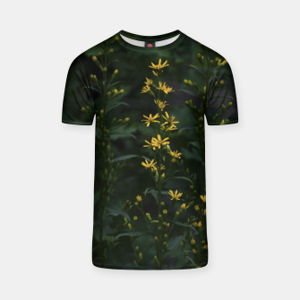 Miniature de image de Yellow flowers T-shirt, Live Heroes