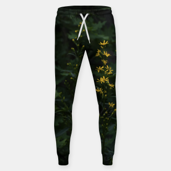 Miniature de image de Yellow flowers Cotton sweatpants, Live Heroes