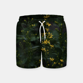Miniature de image de Yellow flowers Swim Shorts, Live Heroes