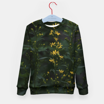Miniature de image de Yellow flowers Kid's sweater, Live Heroes