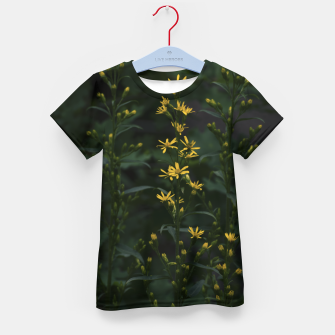 Miniature de image de Yellow flowers Kid's t-shirt, Live Heroes