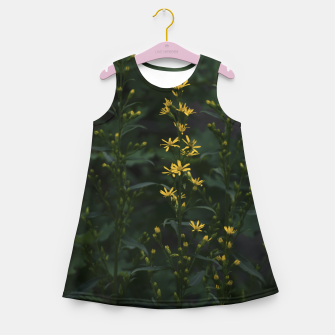 Miniature de image de Yellow flowers Girl's summer dress, Live Heroes