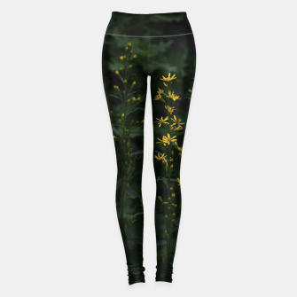 Miniature de image de Yellow flowers Leggings, Live Heroes
