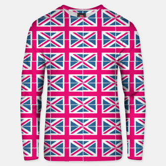 Thumbnail image of Union Jack Check Cotton sweater, Live Heroes