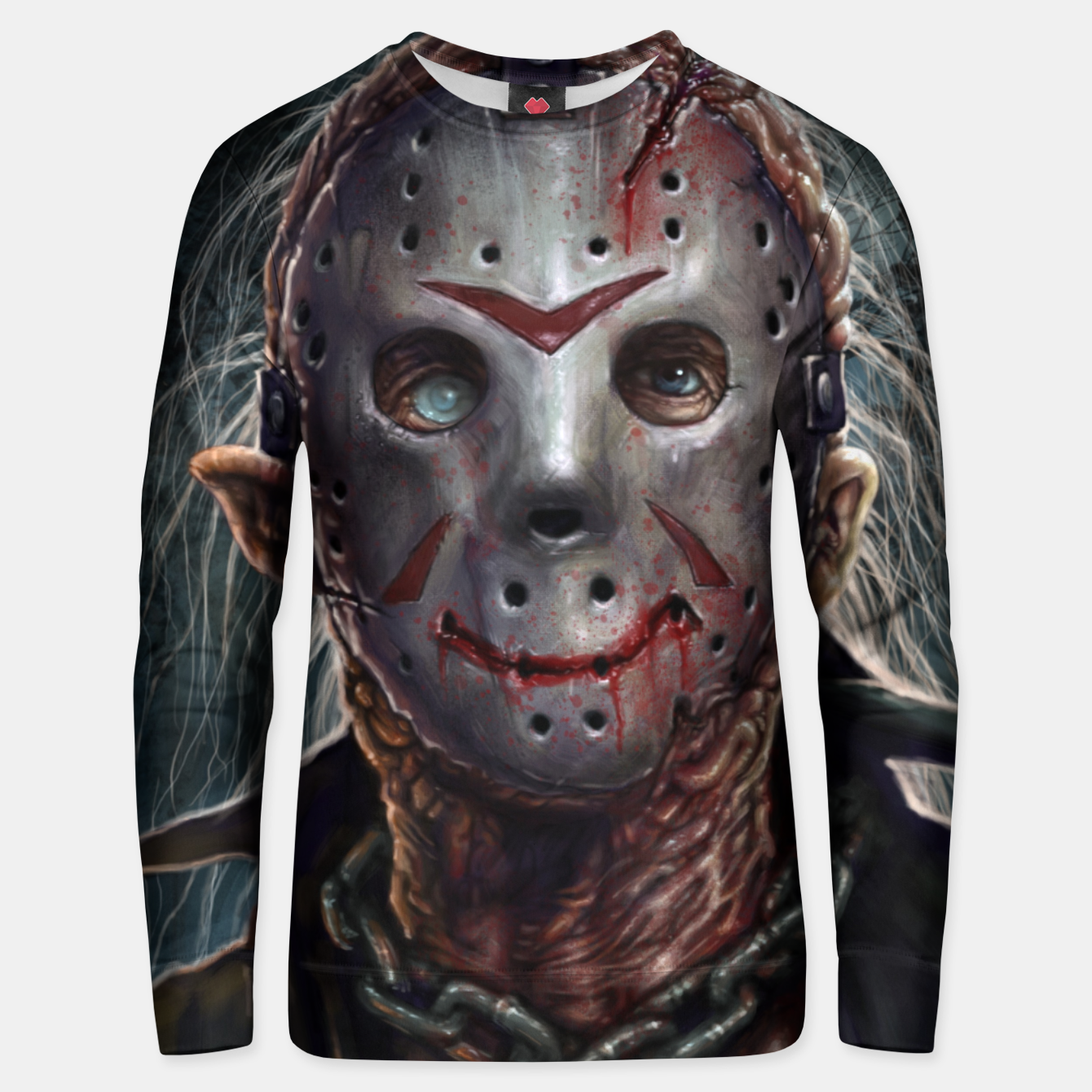 Image of Jason Voorhees Cotton sweater - Live Heroes