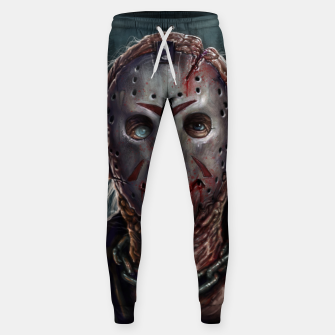 Thumbnail image of Jason Voorhees Cotton sweatpants, Live Heroes