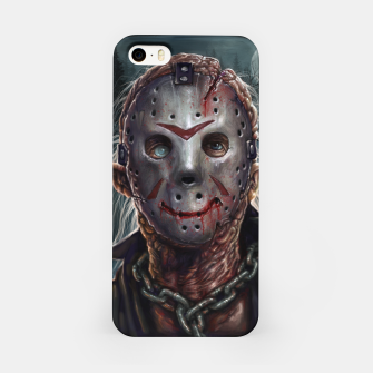 Thumbnail image of Jason Voorhees iPhone Case, Live Heroes