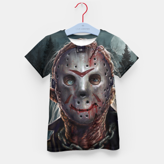 Thumbnail image of Jason Voorhees Kid's t-shirt, Live Heroes
