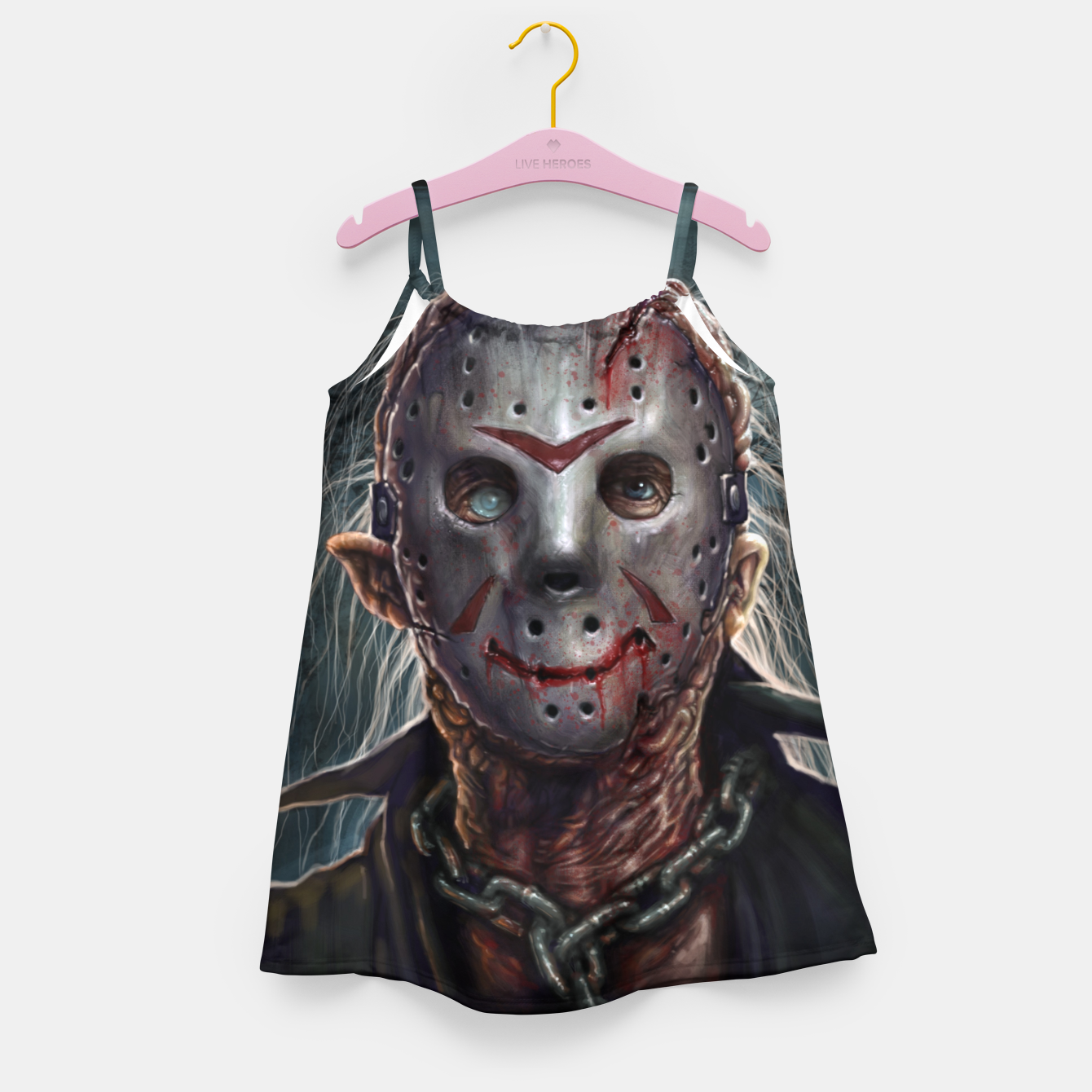 Image of Jason Voorhees Girl's dress - Live Heroes