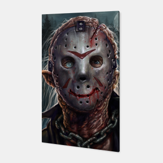 Thumbnail image of Jason Voorhees Canvas, Live Heroes