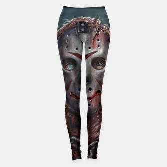 Thumbnail image of Jason Voorhees Leggings, Live Heroes