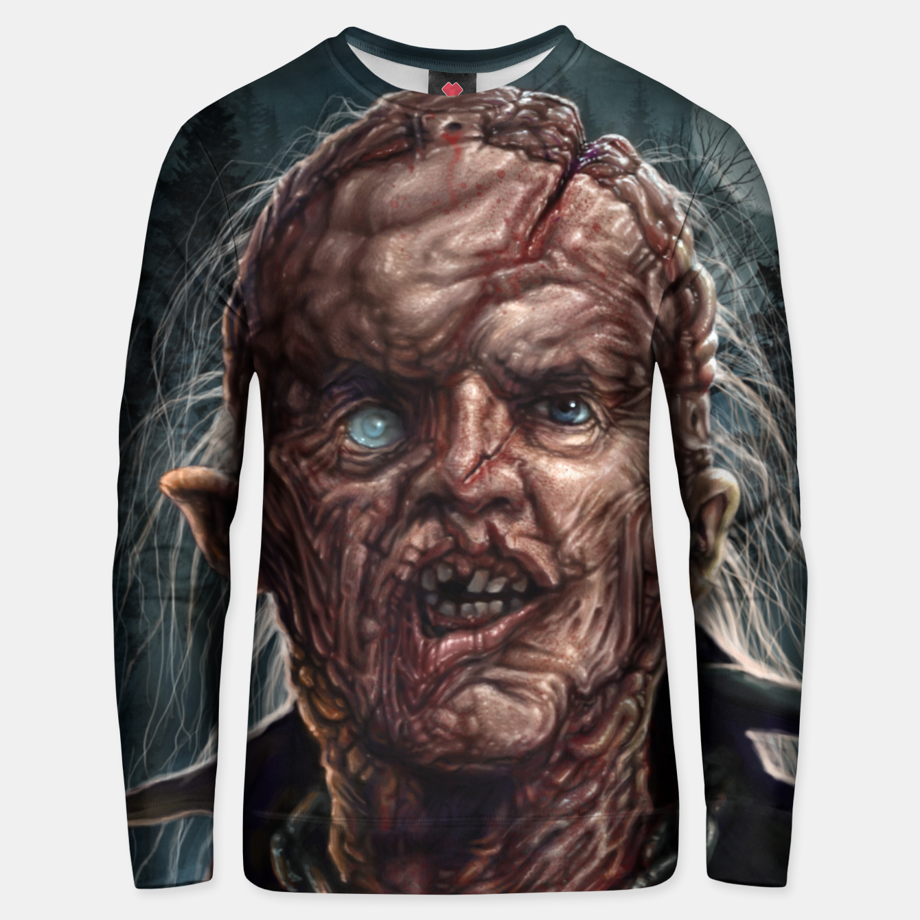 Image of Jason Voorhees - Unmasked Cotton sweater - Live Heroes