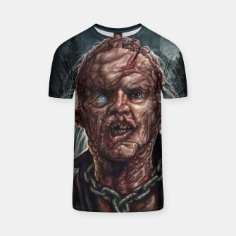 Thumbnail image of Jason Voorhees - Unmasked T-shirt, Live Heroes