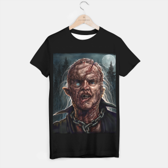 Thumbnail image of Jason Voorhees - Unmasked T-shirt regular, Live Heroes