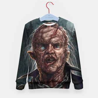 Jason Voorhees - Unmasked Kid's sweater thumbnail image