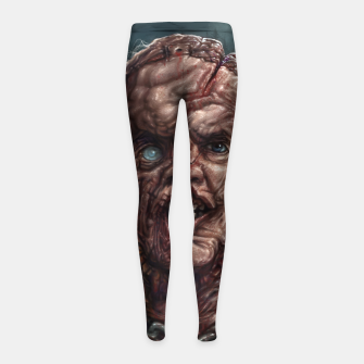 Thumbnail image of Jason Voorhees - Unmasked Girl's leggings, Live Heroes