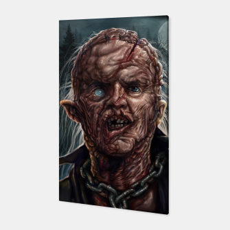 Jason Voorhees - Unmasked Canvas thumbnail image