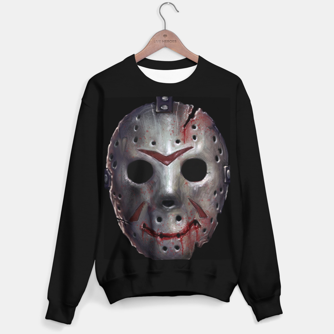 Image of Happy Friday Mask Sweater regular - Live Heroes