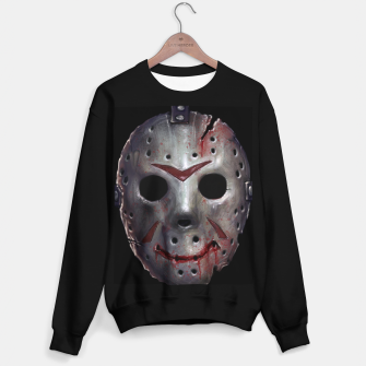 Thumbnail image of Happy Friday Mask Sweater regular, Live Heroes