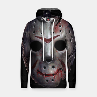 Thumbnail image of Happy Friday Mask Cotton hoodie, Live Heroes