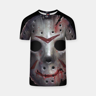 Thumbnail image of Happy Friday Mask T-shirt, Live Heroes