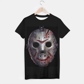 Thumbnail image of Happy Friday Mask T-shirt regular, Live Heroes