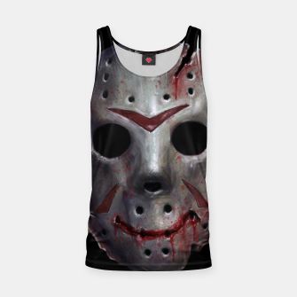 Thumbnail image of Happy Friday Mask Tank Top, Live Heroes