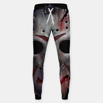 Happy Friday Mask Cotton sweatpants thumbnail image