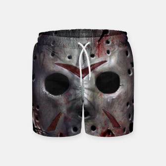 Thumbnail image of Happy Friday Mask Swim Shorts, Live Heroes