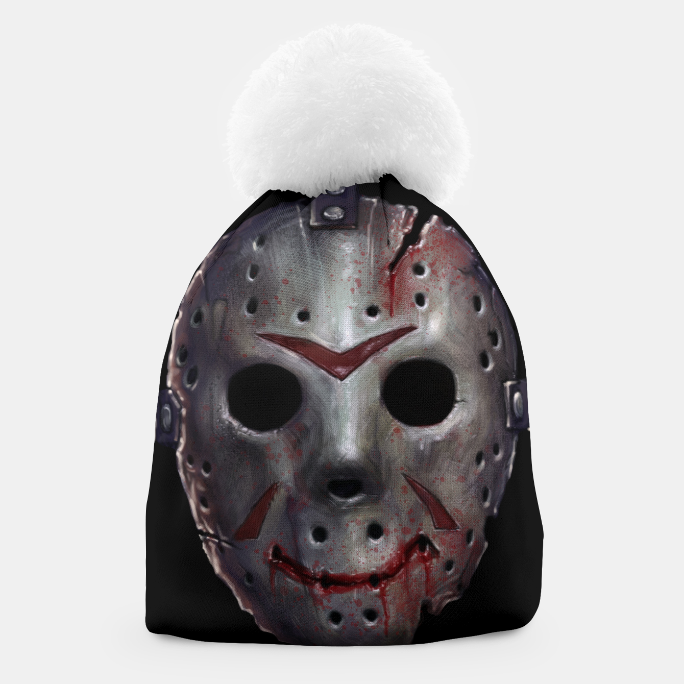Image of Happy Friday Mask Beanie - Live Heroes