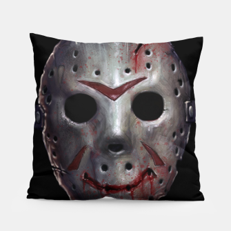 Thumbnail image of Happy Friday Mask Pillow, Live Heroes