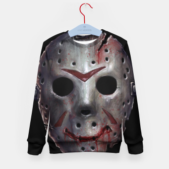 Thumbnail image of Happy Friday Mask Kid's sweater, Live Heroes