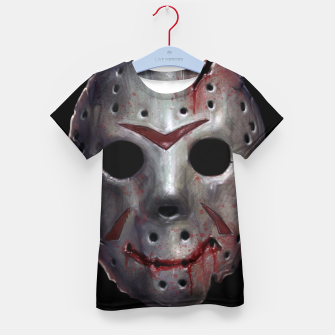Thumbnail image of Happy Friday Mask Kid's t-shirt, Live Heroes