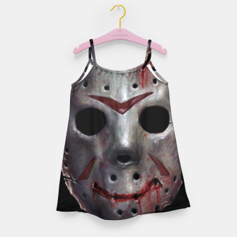 Happy Friday Mask Girl's dress thumbnail image